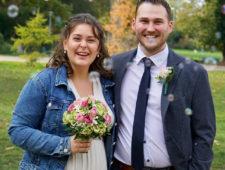 Herzlichen Glückwunsch zur Hochzeit, liebe Carina.