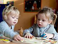 Sprachentwicklung<br> bei Kindern