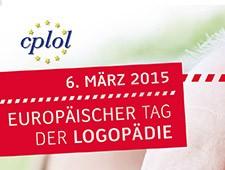 6. März 2015: Europäischer<br>Tag der Logopädie