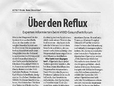 Atem­trai­ning bei Re­flux